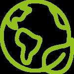 Icon-Weltkugel-Umwelt